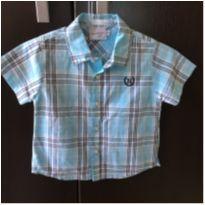 Camisa Curta Noruega M - 3 a 6 meses - Noruega Baby