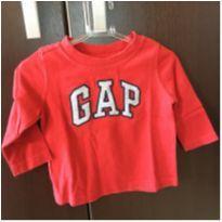 Camiseta Gap 3/6M - 3 a 6 meses - GAP