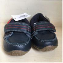 Sapato NAUTICO couro - 18 - Ortopé