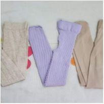 Kit 3 meias calça - 18 a 24 meses - Gymboree e Outros