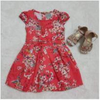 Vestido Carinhoso vermelho - 1 ano - Carinhoso