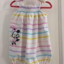 Macaquinho Colorido Minie - 6 a 9 meses - Disney baby