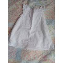 Vestido laise - 9 a 12 meses - Hering Baby
