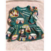Vestido Fábula tamanho p - 3 meses - Fábula