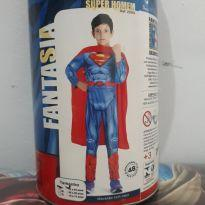 Fantasia luxo super homem - 4 anos - Fantasias  Sulamericana