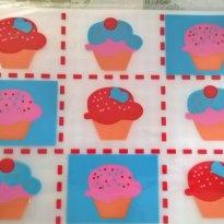 Jogo Lugar Americano Cupcakes - 2 itens - Sem faixa etaria - Lugar americano