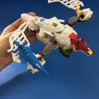 Transformers Construct Bots Silverbolt 39 peças - a partir de 6 anos -  - Hasbro