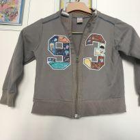 jaqueta cinza divertida - alphabeto - 3 anos - Alphabeto