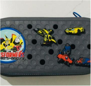estojo transformers com 4 jibbits - crocs - Sem faixa etaria - Crocs