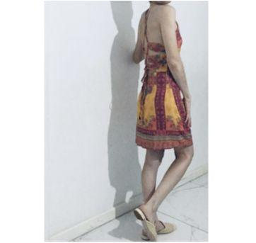 vestido curto estampado tam.16/pp - dress to - Único - DRESS TO