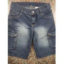 Bermuda Jeans Infantil Menino Palomino Tam 08 - 8 anos - Palomino