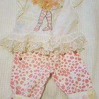 Conjunto Luluzinha de calça e batinha - 1 ano - Luluzinha