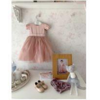 lindo vestido e acessórios - 1 ano - Le infance