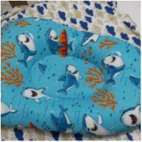 Almofada de banho tubarões -  - Não informada