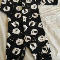 Macacão pijama quentinho - 9 meses - PUC