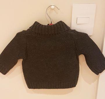 Sweater em lã super quentinho- Gymboree - 0 a 3 meses - Gymboree