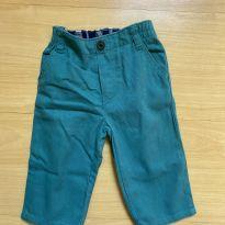 Calça verde Gymboree - 6 a 9 meses - Gymboree