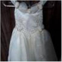 Vestido de dama/ Batizado
