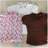 camisetas - 4 anos - Variadas