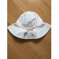 Chapéu menina branco