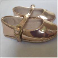 Sapato rosegold - 15 - Molekinha