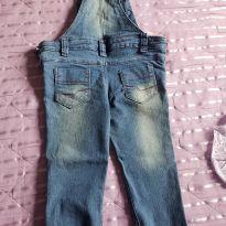 Macacão jeans - 2 anos - Sem marca