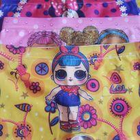 Kit 5 Calcinhas shorts box - 3 anos - Sem marca
