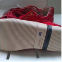 Tenis osklen vermelho - 35 - Osklen