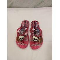 CHINELO MONSTER HIGH ROSA - 29 - ipanema