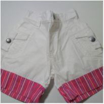 Short Branco Pool Kids - 1 ano - Pool Kids