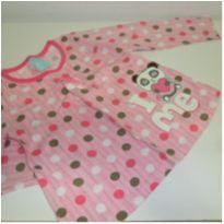 Pijama de Poé Manga Longa + calça Kyly - 2 anos - Kyly