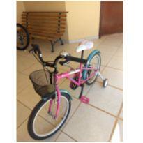 Bicicleta Infanto Juvenil Caloi Barbie Aro 20 -  - Caloi