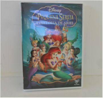 DVD A Pequena Sereia - A História de Ariel - Sem faixa etaria - Disney
