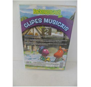 DVD BACKYARDIGANS - CLIPES MUSICAIS - Sem faixa etaria - LOG ON Editora Multimídia
