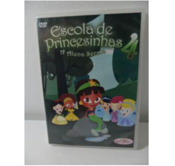 DVD Escola de Princesinhas - A aluna Sereia - Sem faixa etaria - DVD