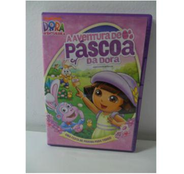 DVD DORA  - A Aventura de Páscoa da Dora. - Sem faixa etaria - DVD
