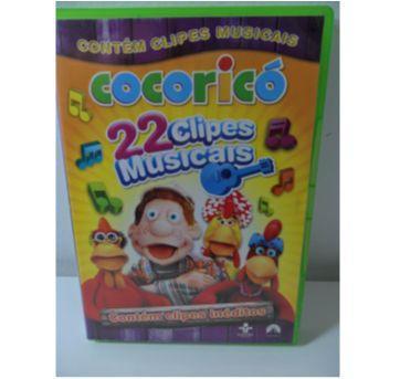 DVD COCORICÓ - 22 Clipes Musicais. - Sem faixa etaria - DVD