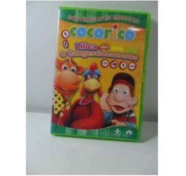 DVD COCORICÓ - Lilica em: O Congestionamento. - Sem faixa etaria - DVD
