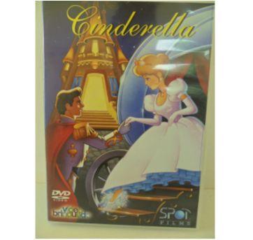 DVD CINDERELA - Sem faixa etaria - DVD