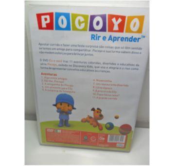DVD POCOYO RIR E APRENDER - Sem faixa etaria - DVD