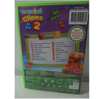 DVD COCORICÓ - Clipes Nº 2 - Sem faixa etaria - DVD