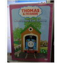 DVD THOMAS & FRIENDS - APRENDENDO COM THOMAS. -  - DVD