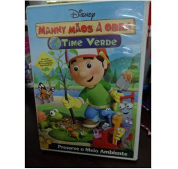 DVD MANNY MÃOS À OBRA - TIME VERDE - Sem faixa etaria - DVD