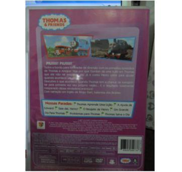 DVD THOMAS & FRIENDS - APRENDENDO COM THOMAS. - Sem faixa etaria - DVD