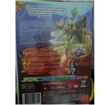 DVD TINKERBELL E O TESOURO PERDIDO - Sem faixa etaria - DVD