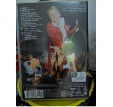 DVD XUXA FESTA - AO VIVO - Sem faixa etaria - DVD
