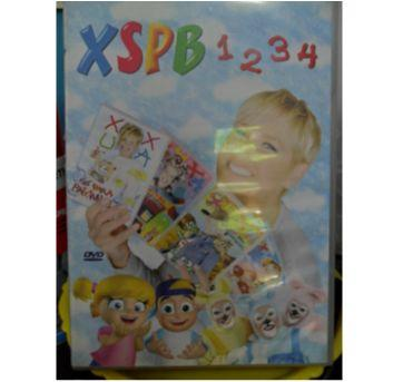 DVD XUXA XSPB 1, 2, 3 E 4 - Sem faixa etaria - DVD