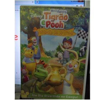 DVD TIGRÃO E POOH - DIVERSÃO AO AR LIVRE. - Sem faixa etaria - DVD