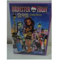 DVD MONSTER HIGH - SCARIS A CIDADE SEM LUZ -  - DVD