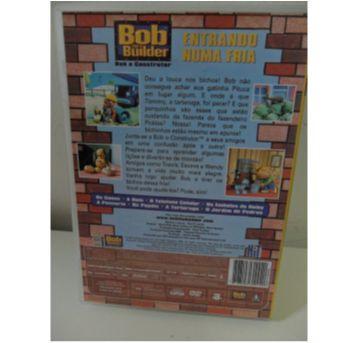 DVD BOB O CONSTRUTOR - ENTRANDO NUMA FRIA. - Sem faixa etaria - DVD